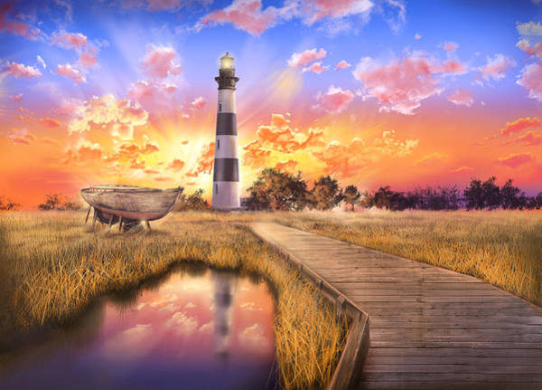 Wall Art - Photograph - Bodie Island Lighthouse by Bekim M