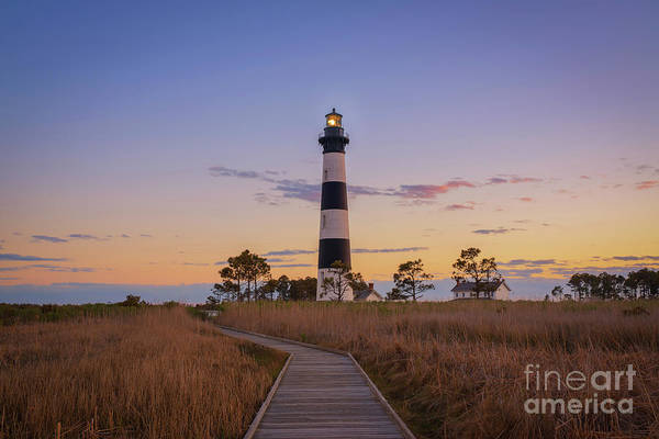 Wall Art - Photograph - Bodie Island Lighthouse Sunset  by Michael Ver Sprill