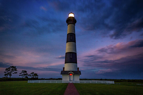 Photograph - Bodie Island Twilight  by Pete Federico