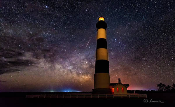 Photograph - Bodie Light And Galactic Core 4994 by Dan Beauvais