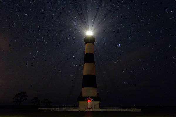 Photograph - Bodie Light On A Starry Night by M C Hood