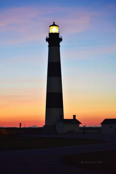 Bodie Lighthouse At Sunrise Art Print