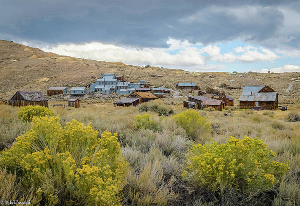 Bodie Ghost Town Wall Art - Photograph - Bodie Mine by Mike Ronnebeck