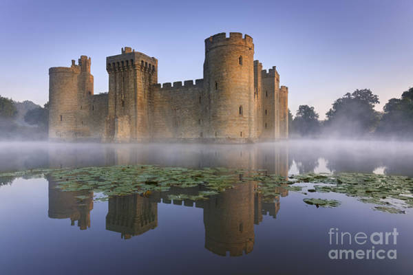 Moat Photograph - Bodium Castle 1 by Rod McLean