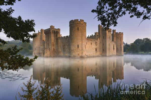 Moat Photograph - Bodium Castle 2 by Rod McLean