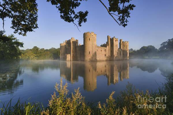 Moat Photograph - Bodium Castle 4 by Rod McLean