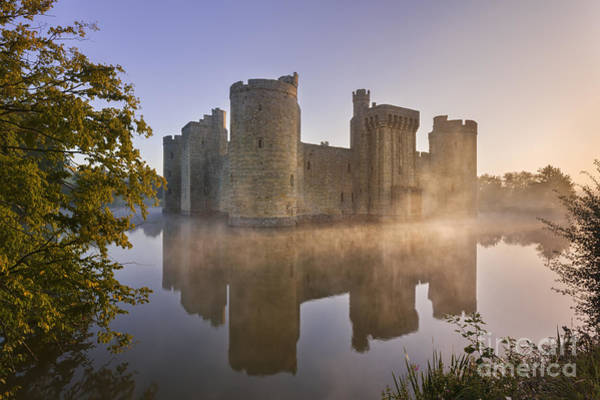 Moat Photograph - Bodium Castle 3 by Rod McLean