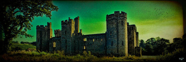 Photograph - Bodium Castle Panorama by Chris Lord