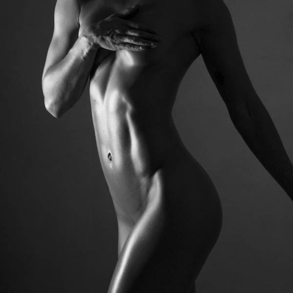 Fit Photograph - Body Of Art 11 by Blue Muse Fine Art