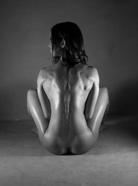 Fit Photograph - Body Of Art 20 by Blue Muse Fine Art