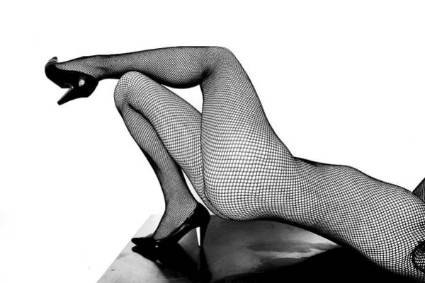Moberly Photograph - Body Stocking by Guy Moberly
