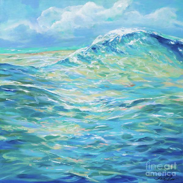 Bodysurfing Rolling Wave Art Print