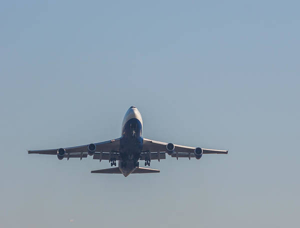 Photograph - Boeing 747-4 by Brian MacLean