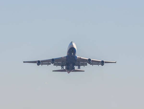 Photograph - Boeing 747 by Brian MacLean