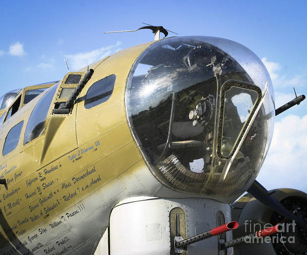 Photograph - Boeing B-17 Flying Fortress by Ricky L Jones