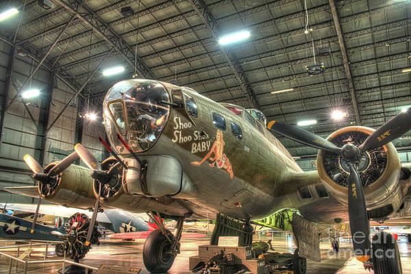 Wall Art - Photograph - Boeing B-17g Flying Fortress, Shoo Shoo Shoo Baby by Greg Hager