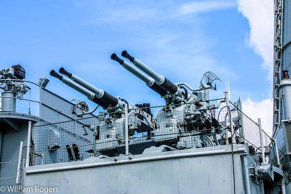 Wall Art - Photograph - Bofors 40 Mm Gun by William Rogers