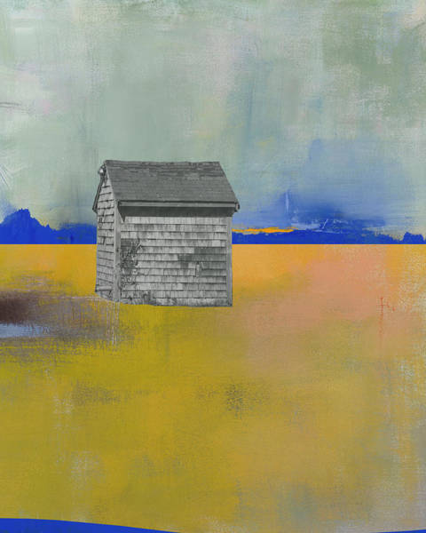 Farm Landscape Mixed Media - Bog Pump House by Jacquie Gouveia