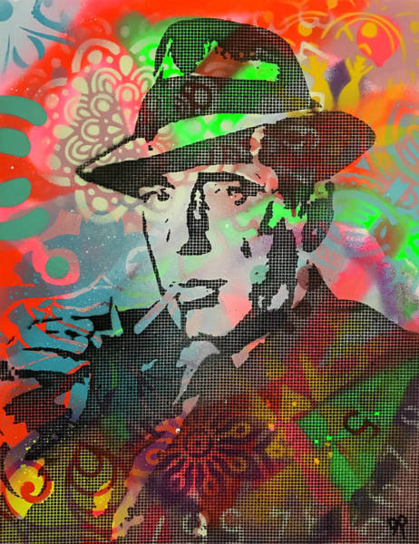Painting - Bogart by Dean Russo Art