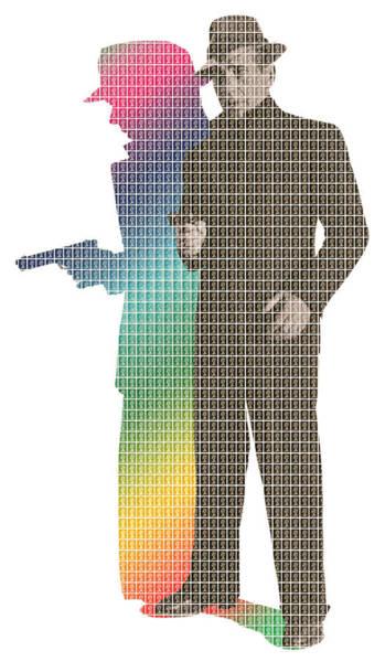 Bogart Digital Art - Bogart Rainbow by Gary Hogben