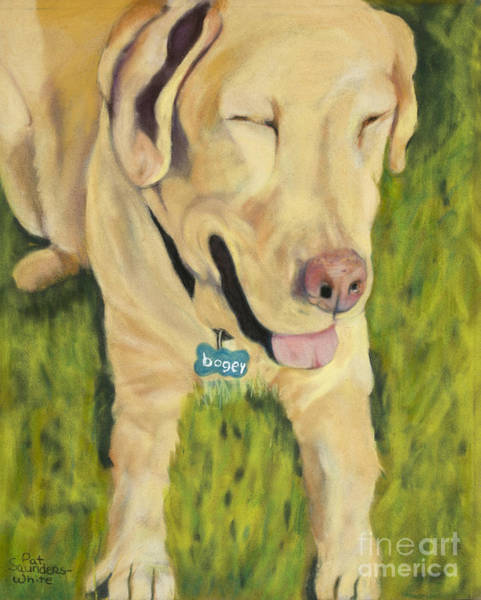 Painting - Bogey by Pat Saunders-White