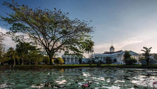 Architecture Digital Art - Bogor Palace by Maye Loeser