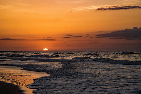 Photograph - Bogue Banks Sunrise by John Harding