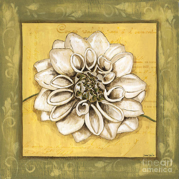 Wall Art - Painting - Bohemian Dahlia 1 by Debbie DeWitt