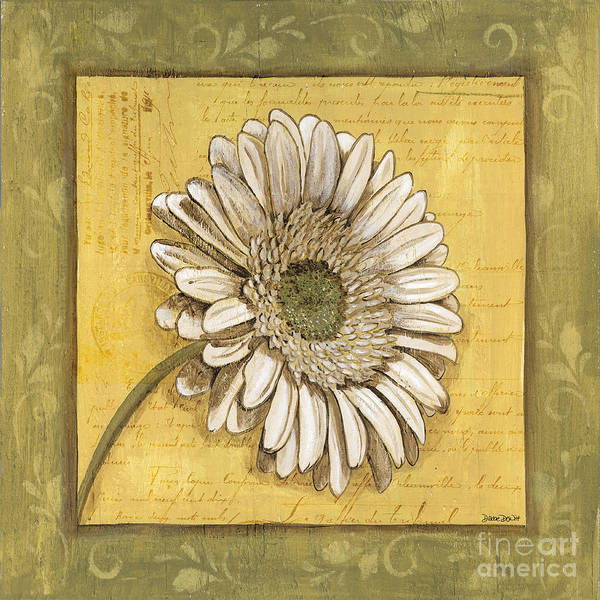 Wall Art - Painting - Bohemian Daisy 1 by Debbie DeWitt