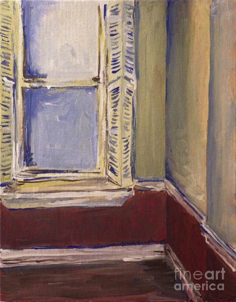 Painting - Bohemian Gallery, January 2007 by Joseph A Langley