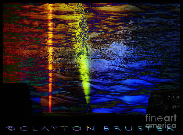 Digital Art - Boiling Colors by Clayton Bruster