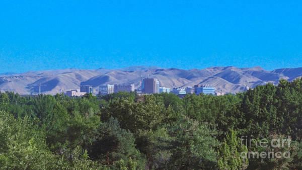 Photograph - Boise Cityscape By Omashte by Omaste Witkowski