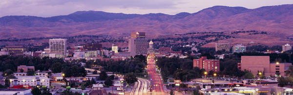 Id Wall Art - Photograph - Boise Id by Panoramic Images