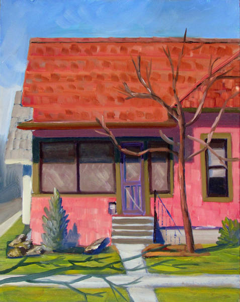 Painting - Boise Ridenbaugh St 02 by Kevin Hughes