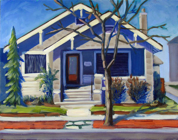 Painting - Boise Ridenbaugh St by Kevin Hughes