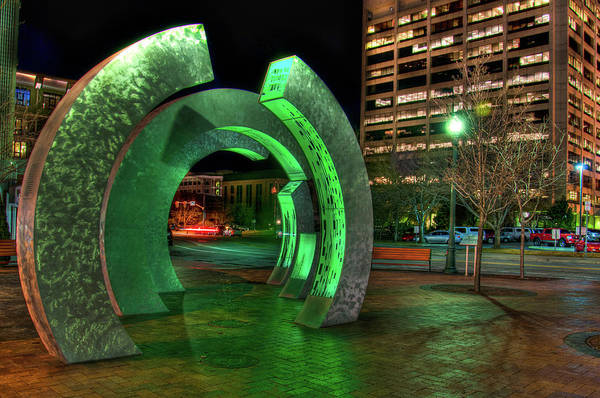 Photograph - Boise Rings by Daryl Clark