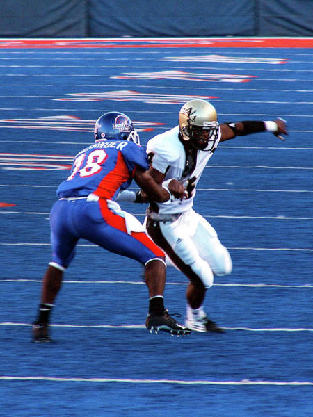 Photograph - Boise State Great Gerald Alexander by Lost River Photography