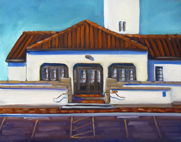 Painting - Boise Train Depot by Kevin Hughes