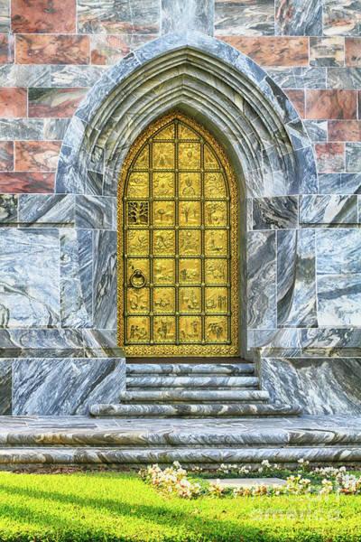 Photograph - Bok Tower Door by Deborah Benoit