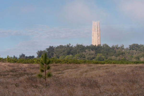 Photograph - Bok Tower In Clouds by Paul Rebmann
