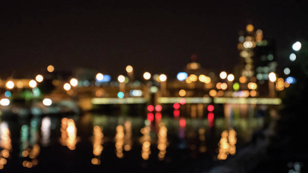 Photograph - Bokeh City by Randy Scherkenbach