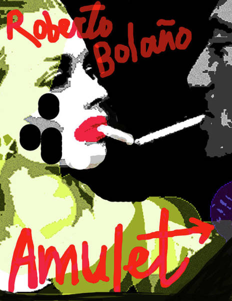 Mixed Media - Bolano Amulet Poster  by Paul Sutcliffe