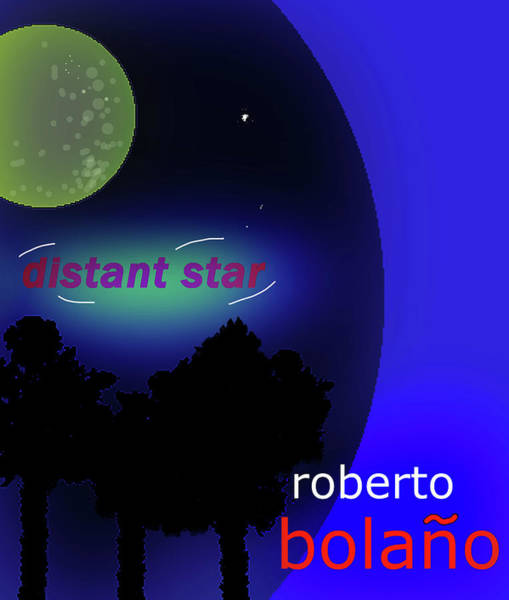 Drawing - Bolano Distant Star Potser  by Paul Sutcliffe