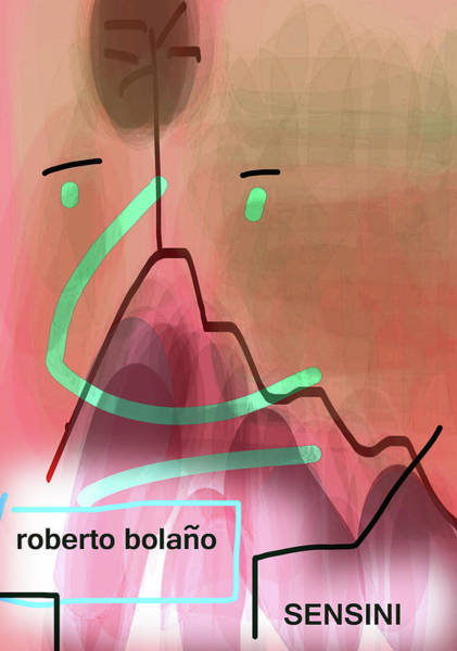 Drawing - Bolano Sensini Poster  by Paul Sutcliffe