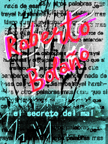 Mixed Media - Bolano The Secret Of Evil Poster  by Paul Sutcliffe