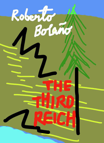 Mixed Media - Bolano Third Reich Poster  by Paul Sutcliffe