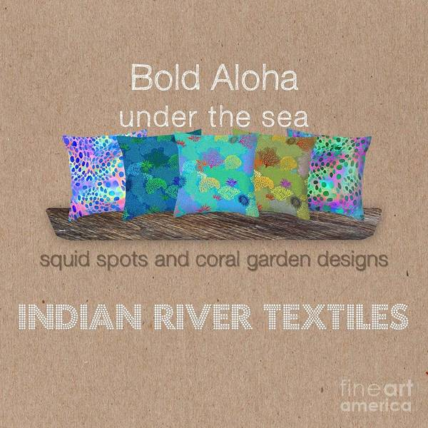 Digital Art - Bold Aloha Under The Sea Collection by Karen Dyson
