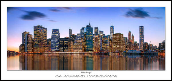 Lower Manhattan Photograph - Bold And Beautiful Poster Print by Az Jackson