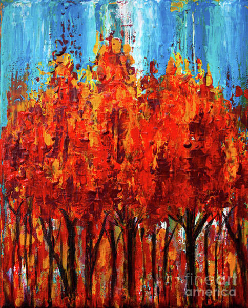 Painting - Bold Autumn by Tim Musick