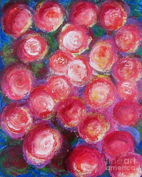 Painting - Bold Bunch by Corinne Carroll